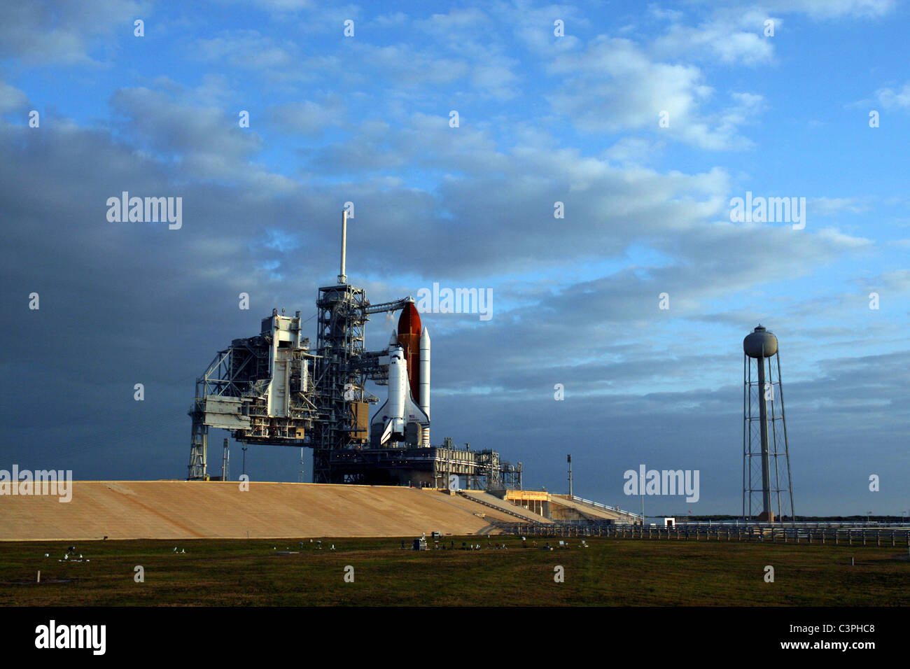 Space Shuttle Endeavour, final launch of the Space Shuttle Endeavour, STS-134 mission. - Stock Image