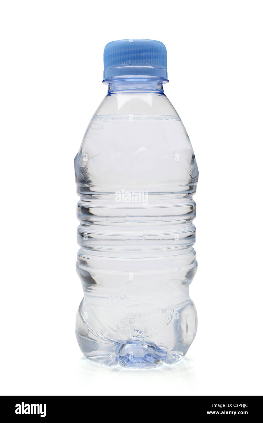 mineral water bottle - Stock Image