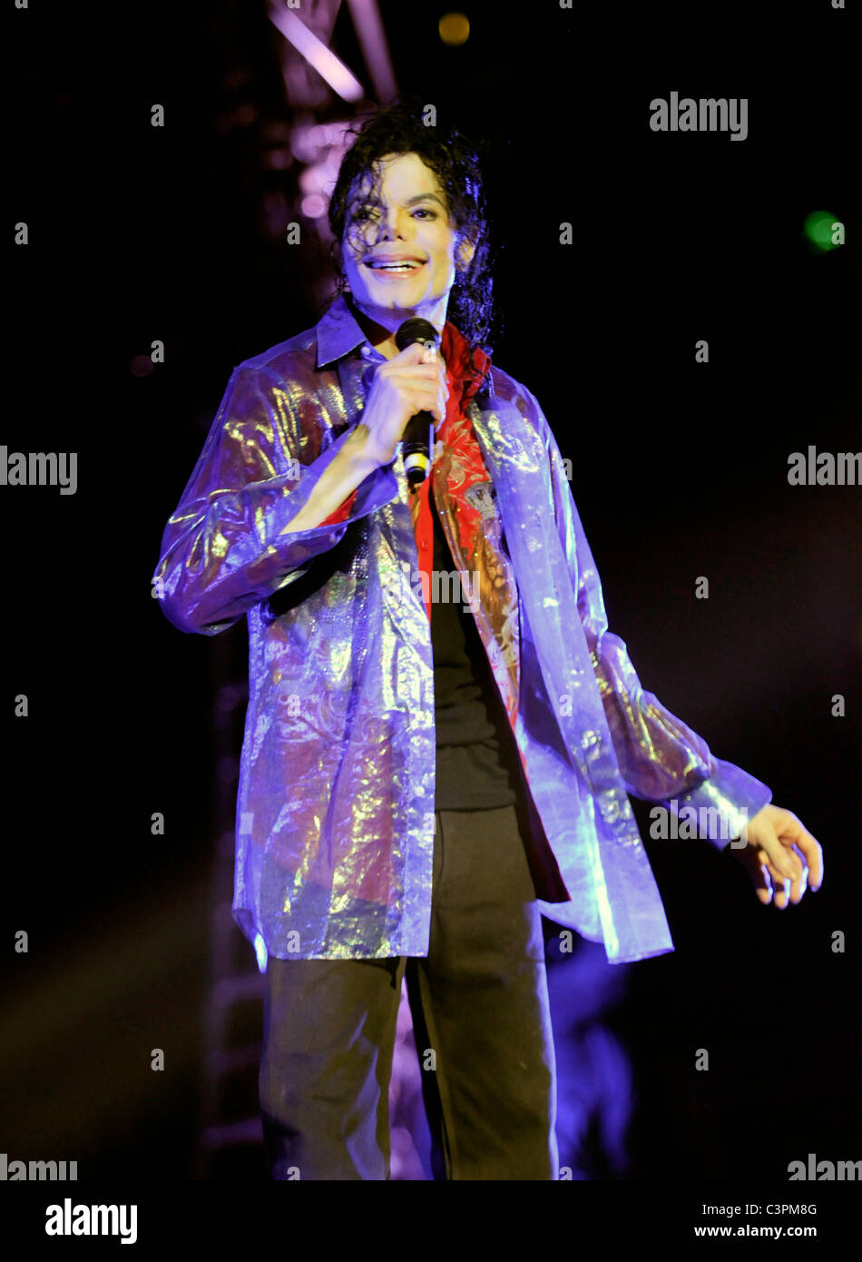 Michael Jackson This Is It Michael Jackson S This Is It 2009 Stock Photo Alamy