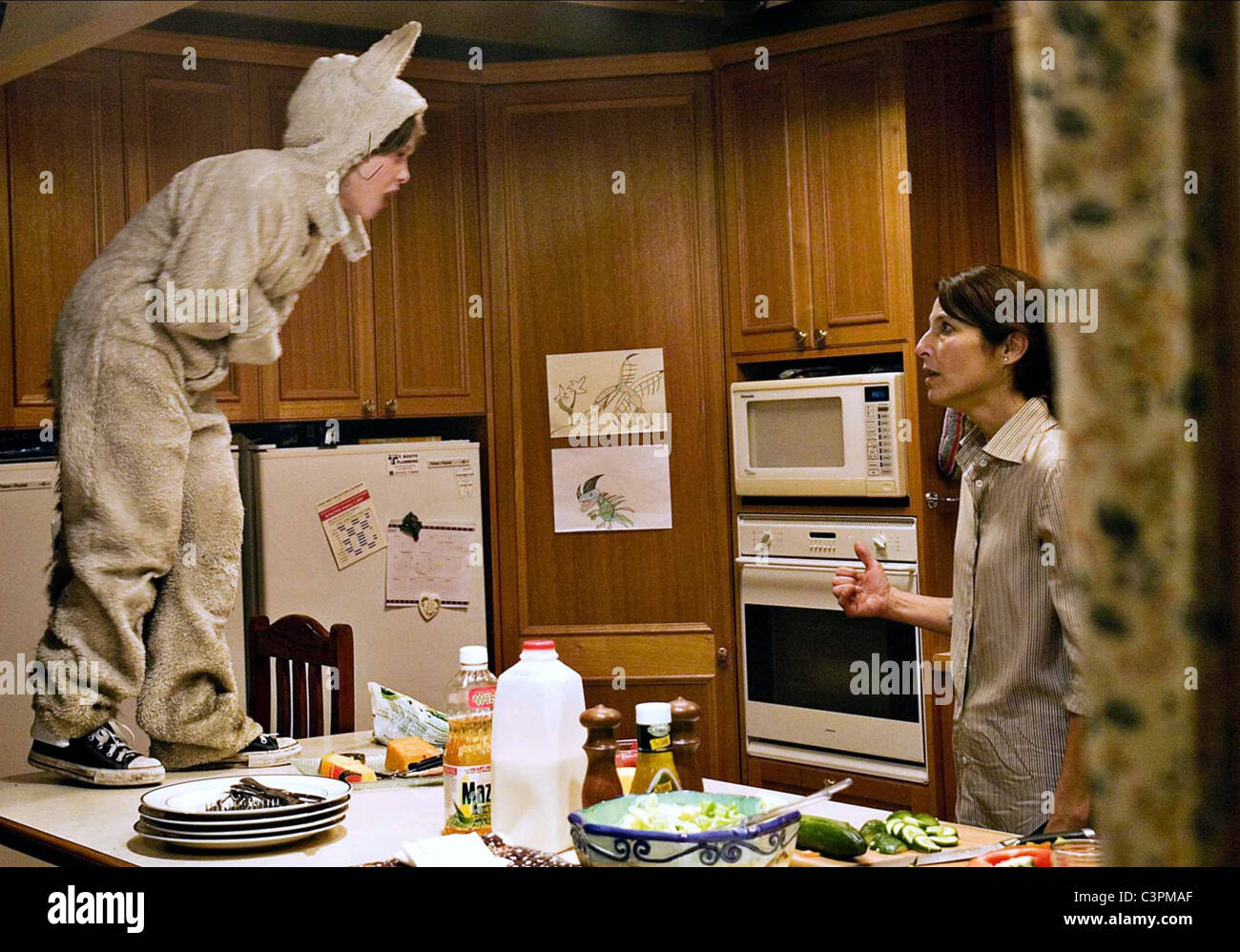 MAX RECORDS & CATHERINE KEENER WHERE THE WILD THINGS ARE (2009) - Stock Image