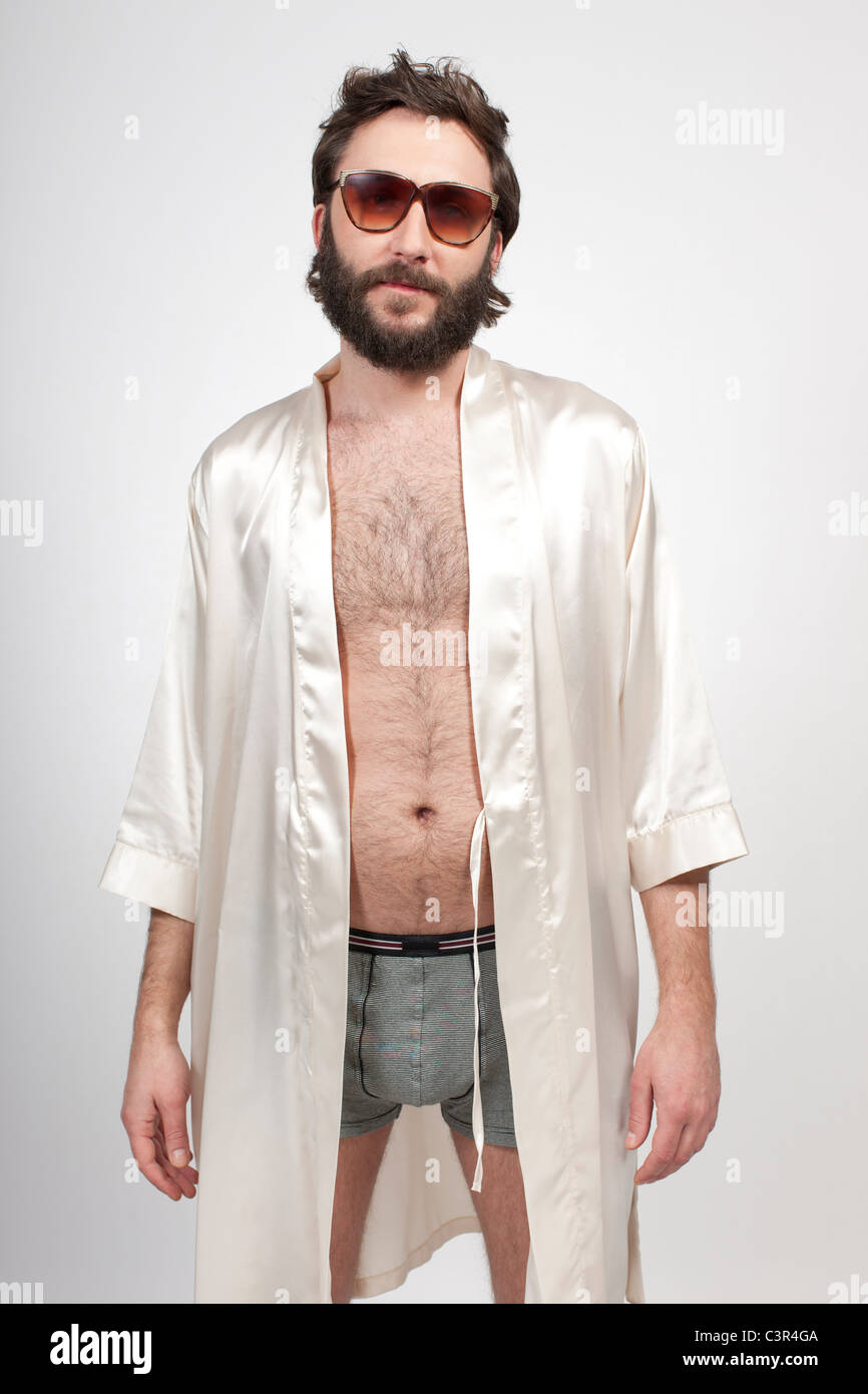 Man In Robe High Resolution Stock Photography And Images Alamy