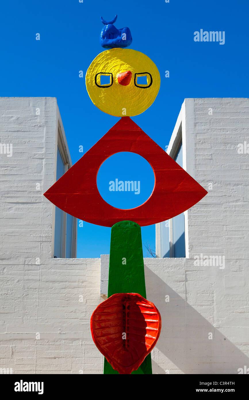 Barcelona, Joan Miro Foundation - Stock Image