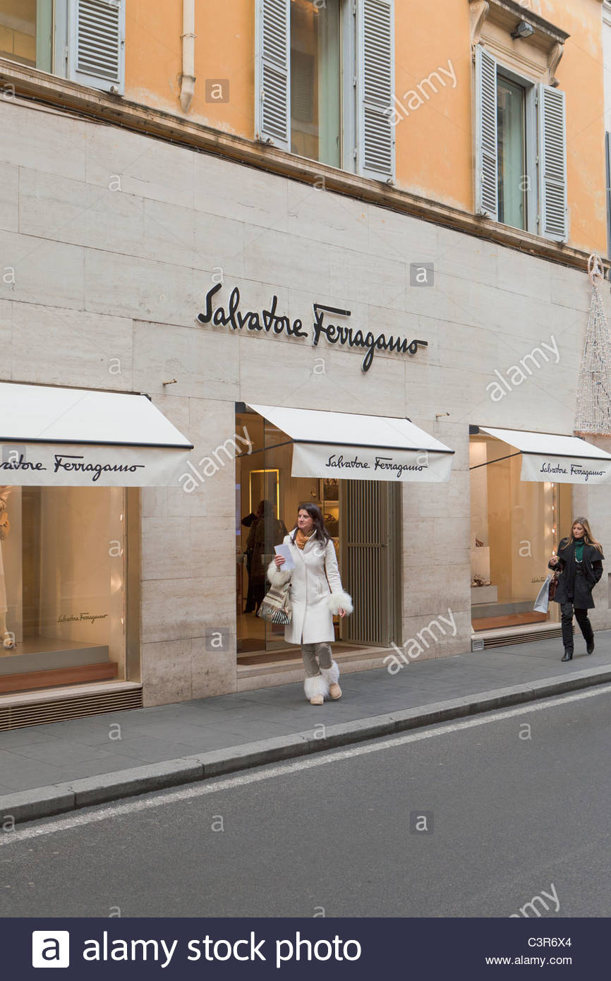 d52bfeb282c2d Salvatore Ferragamo Shop Stock Photos & Salvatore Ferragamo Shop ...