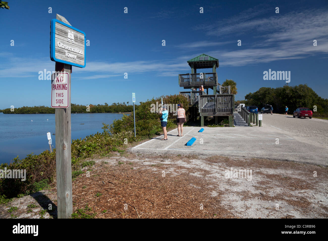 J.N. 'Ding' Darling National Wildlife Refuge, Sanibel Island, Florida, USA - Stock Image