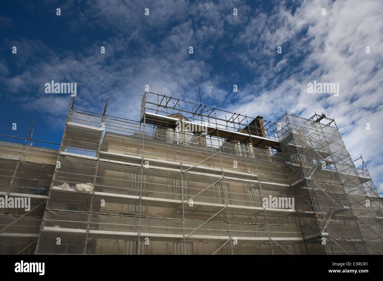 House in construction Stock Photo