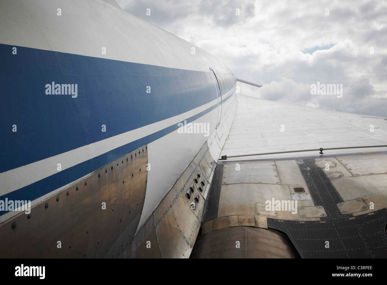 Germany, Sinsheim, Concorde at the Auto & Technik Museum - Stock Image