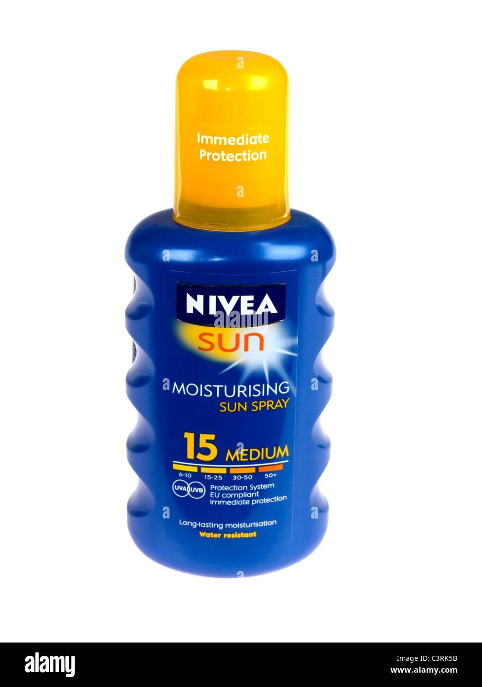 Nivea Sun Spray - Stock Image