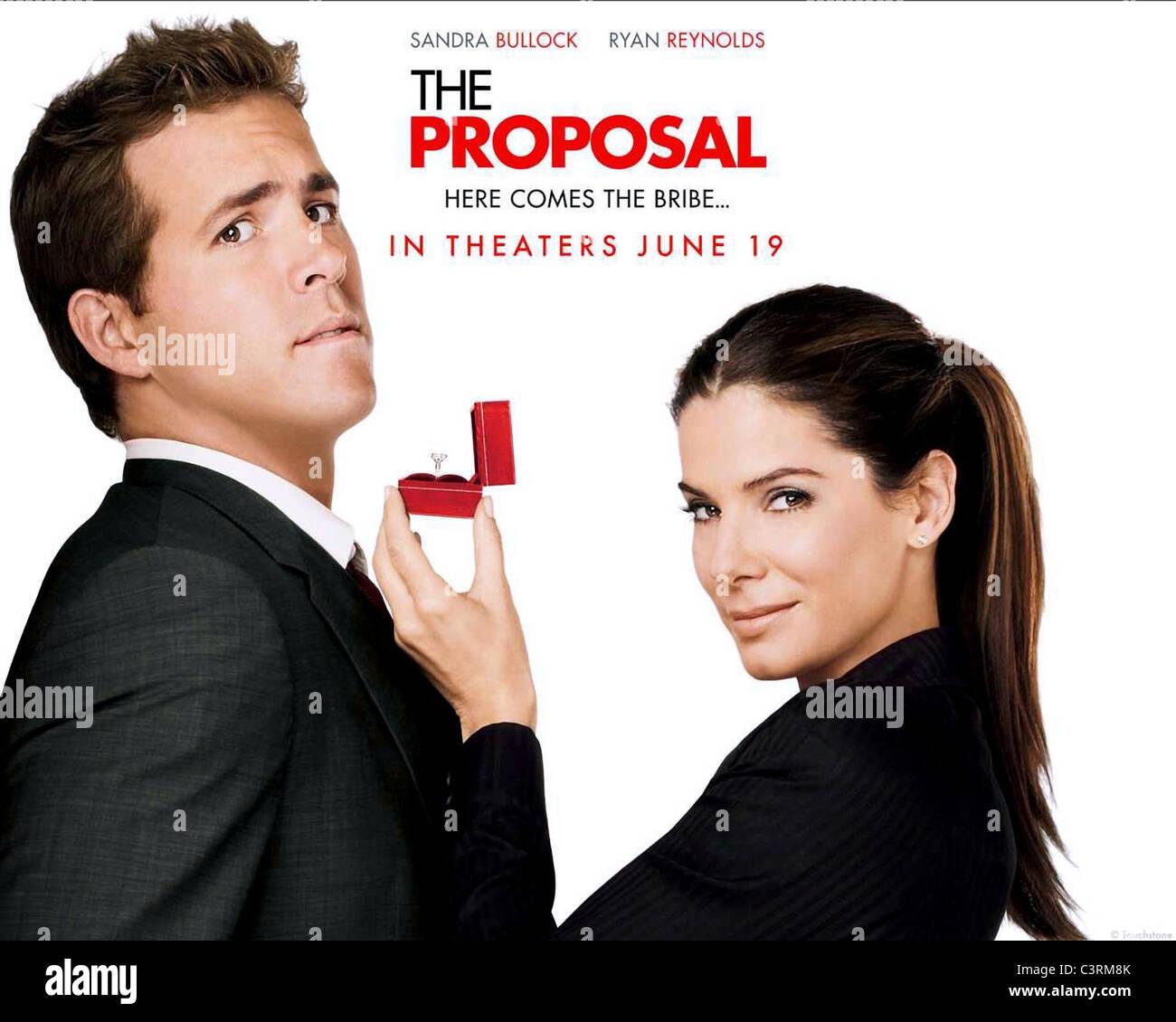 RYAN REYNOLDS & SANDRA BULLOCK POSTER THE PROPOSAL (2009