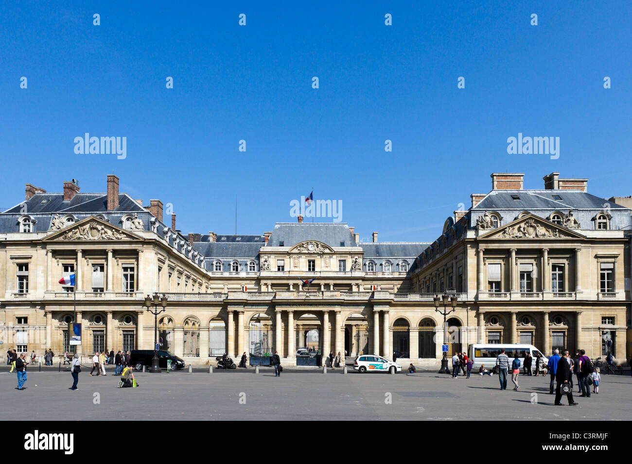 The Palais Royal, 1st Arrondissement, Paris, France - Stock Image