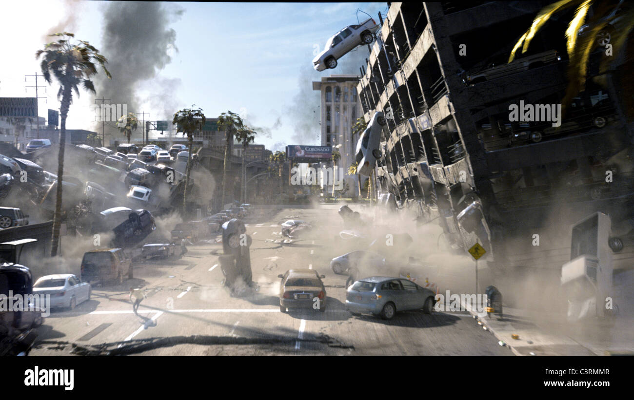 EARTHQUAKE SCENE 2012 (2009) - Stock Image