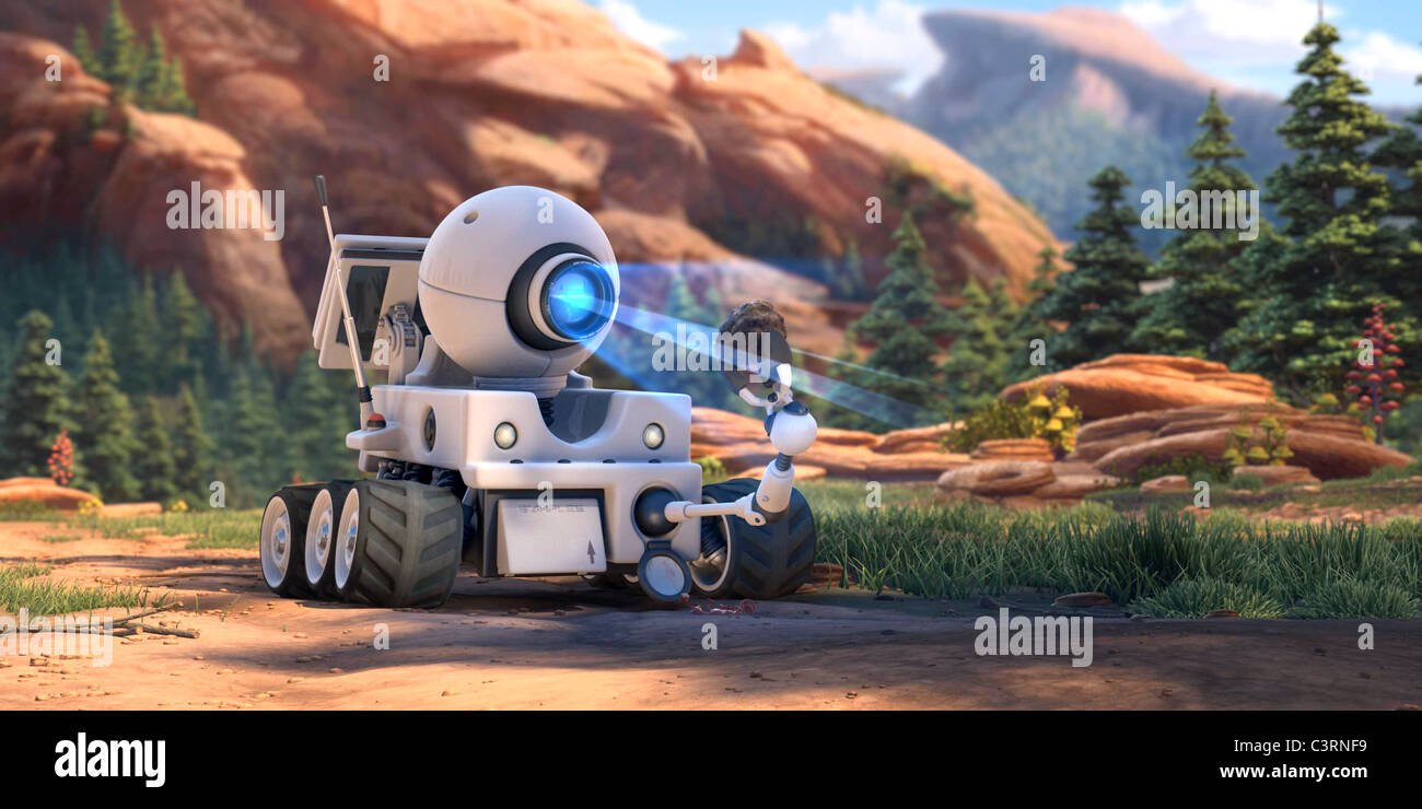 ROVER PLANET 51 (2009) - Stock Image
