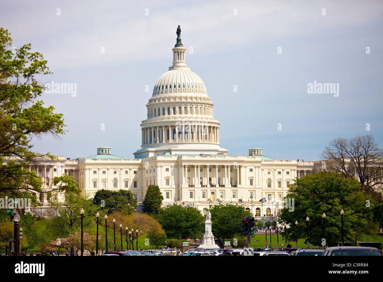 Capitol building, Washington DC - Stock Image