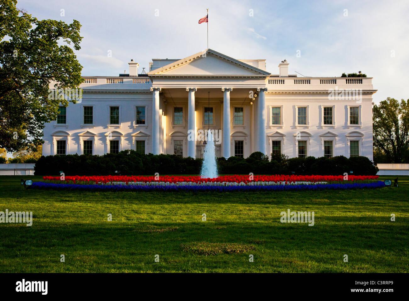 The White House, Washington DC - Stock Image