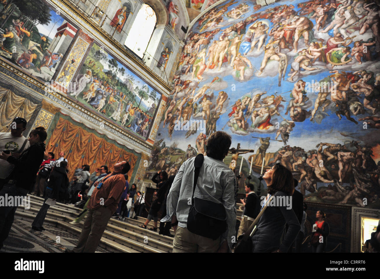 Artwork At The Vatican Museums The Sistine Chapel Ceiling