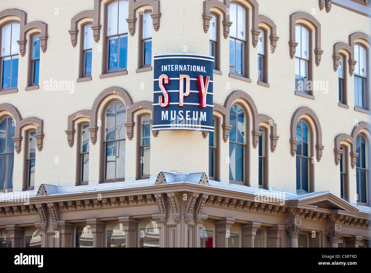 International Spy Museum, Washington DC - Stock Image