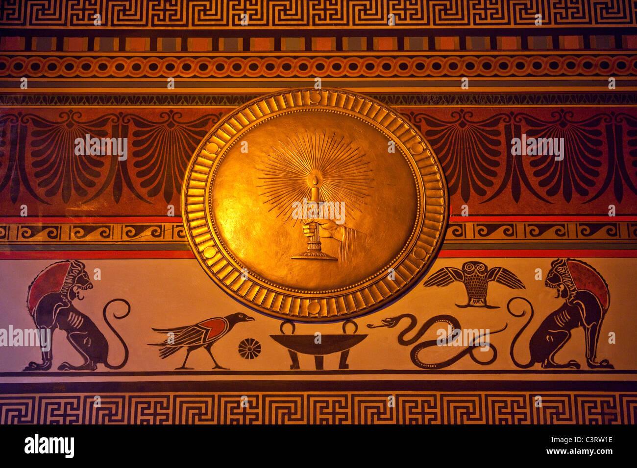 Scottish Rite of Freemasonry building in Washington DC - Stock Image