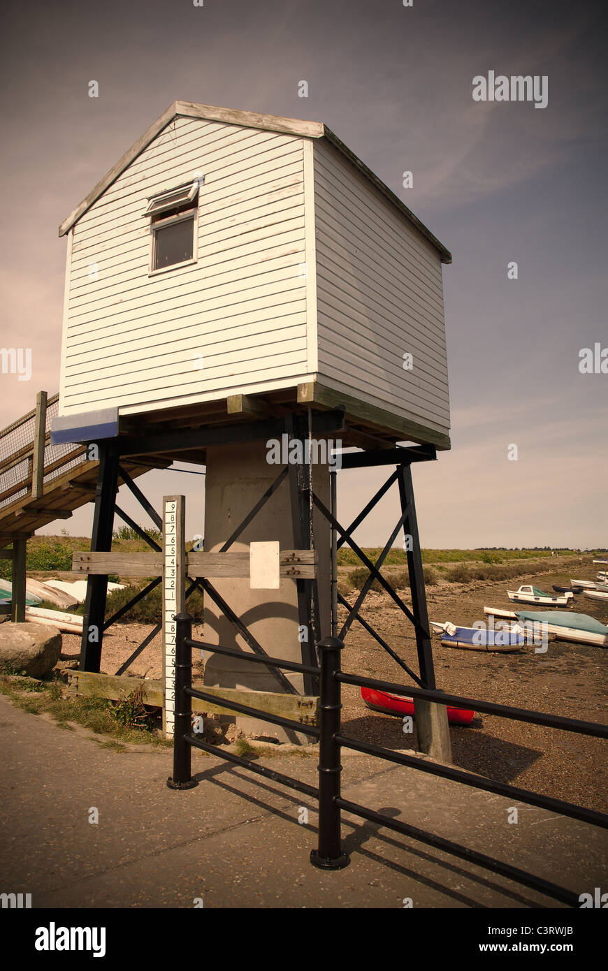 Harbor Lookout station in England - Stock Image
