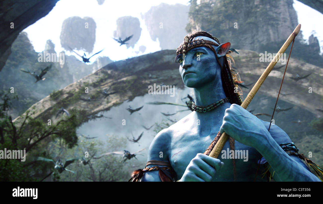 SAM WORTHINGTON AVATAR (2009) - Stock Image