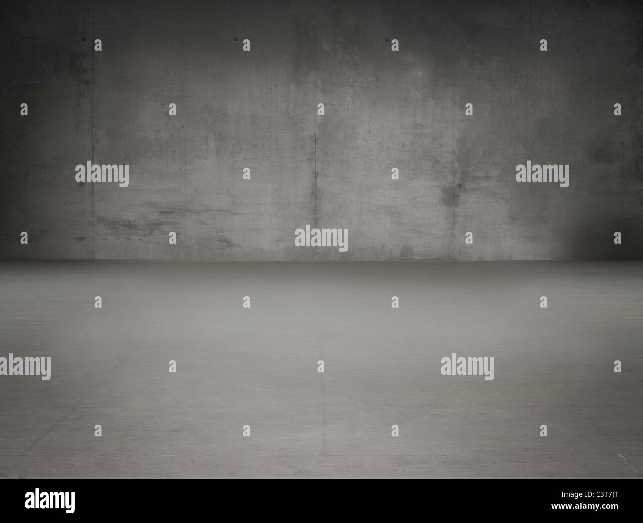Old grunge gray interior - Stock Image