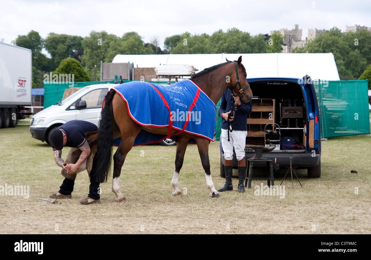 Royal Windsor Horse Show 2011 images Stock Photo