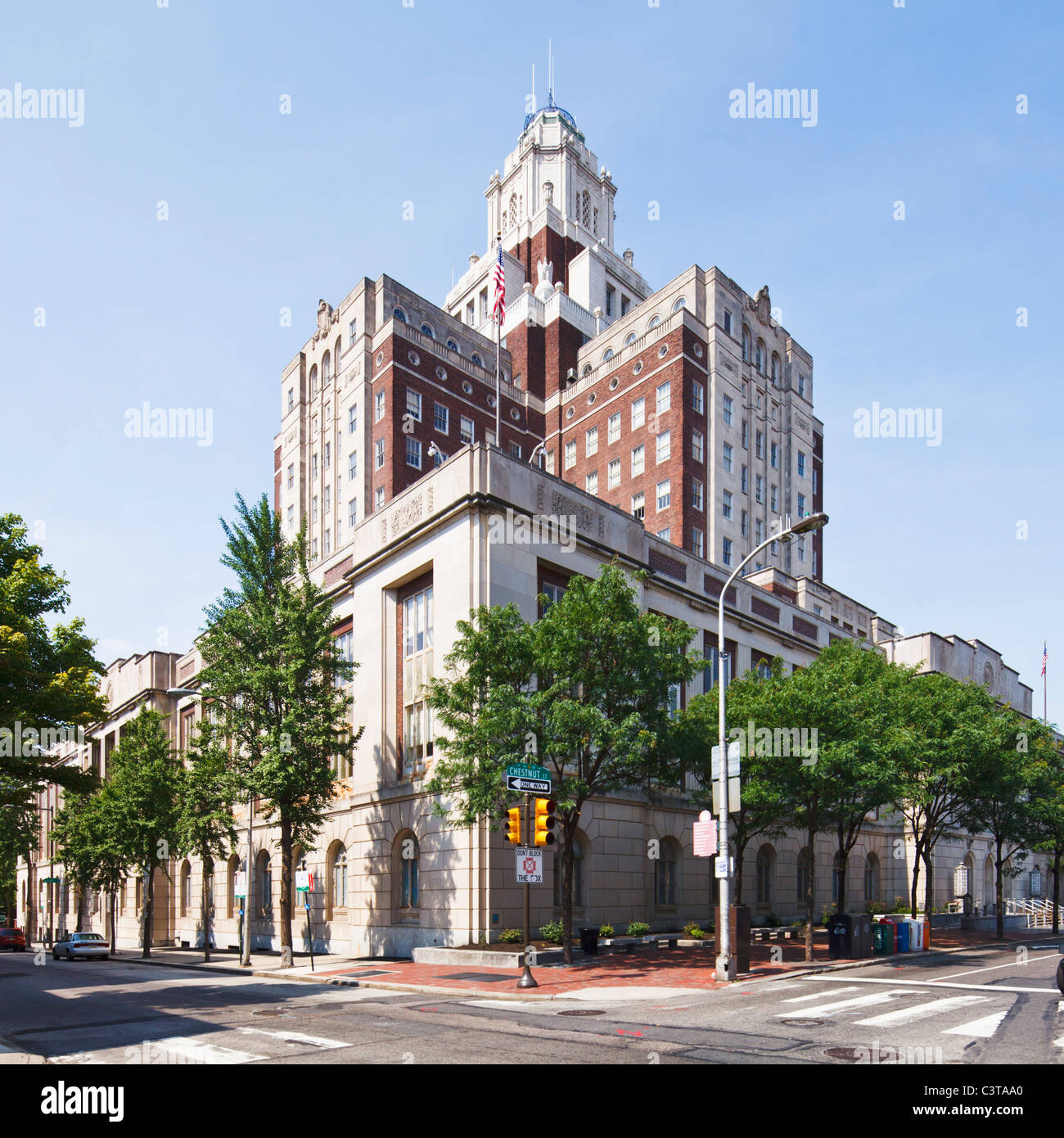 Federal Bureau of Prisons, Philadelphia - Stock Image