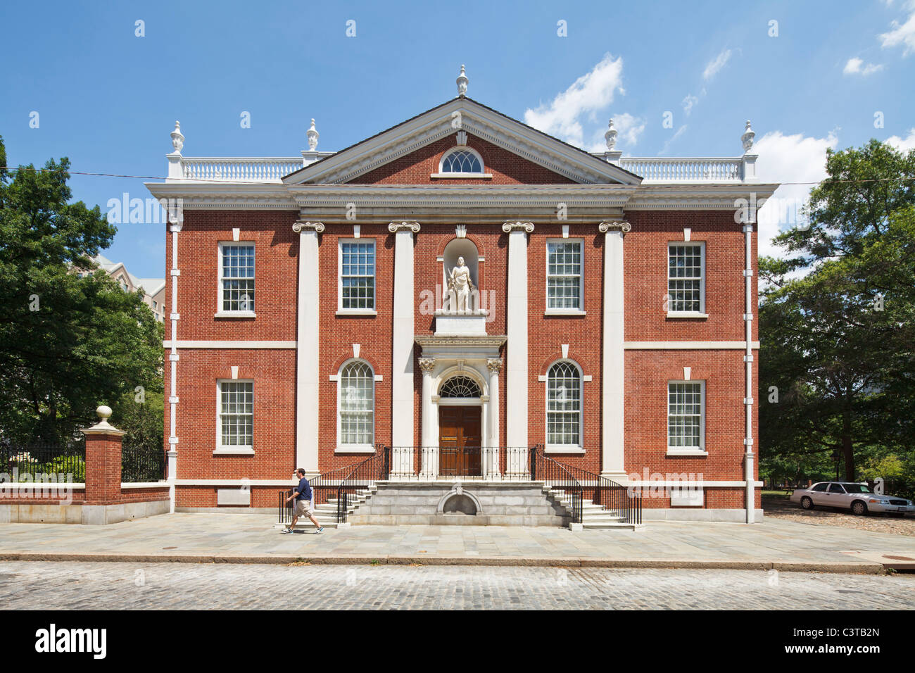 American Philosophical Society Library, Philadelphia - Stock Image