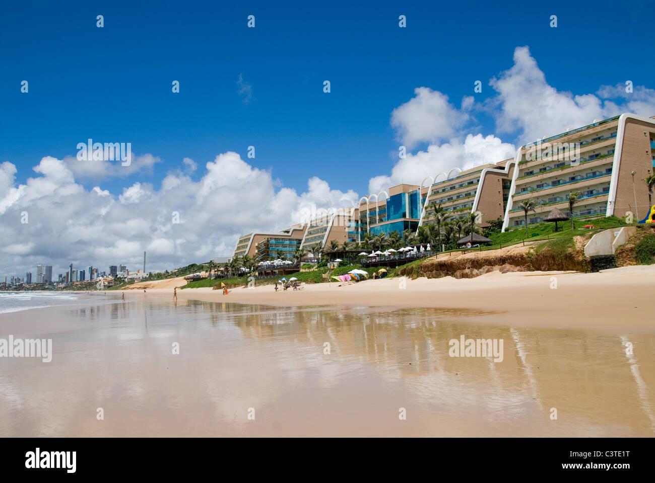 Serhs Natal Grand Hotel, Ponta Negra, Brazil. Stock Photo