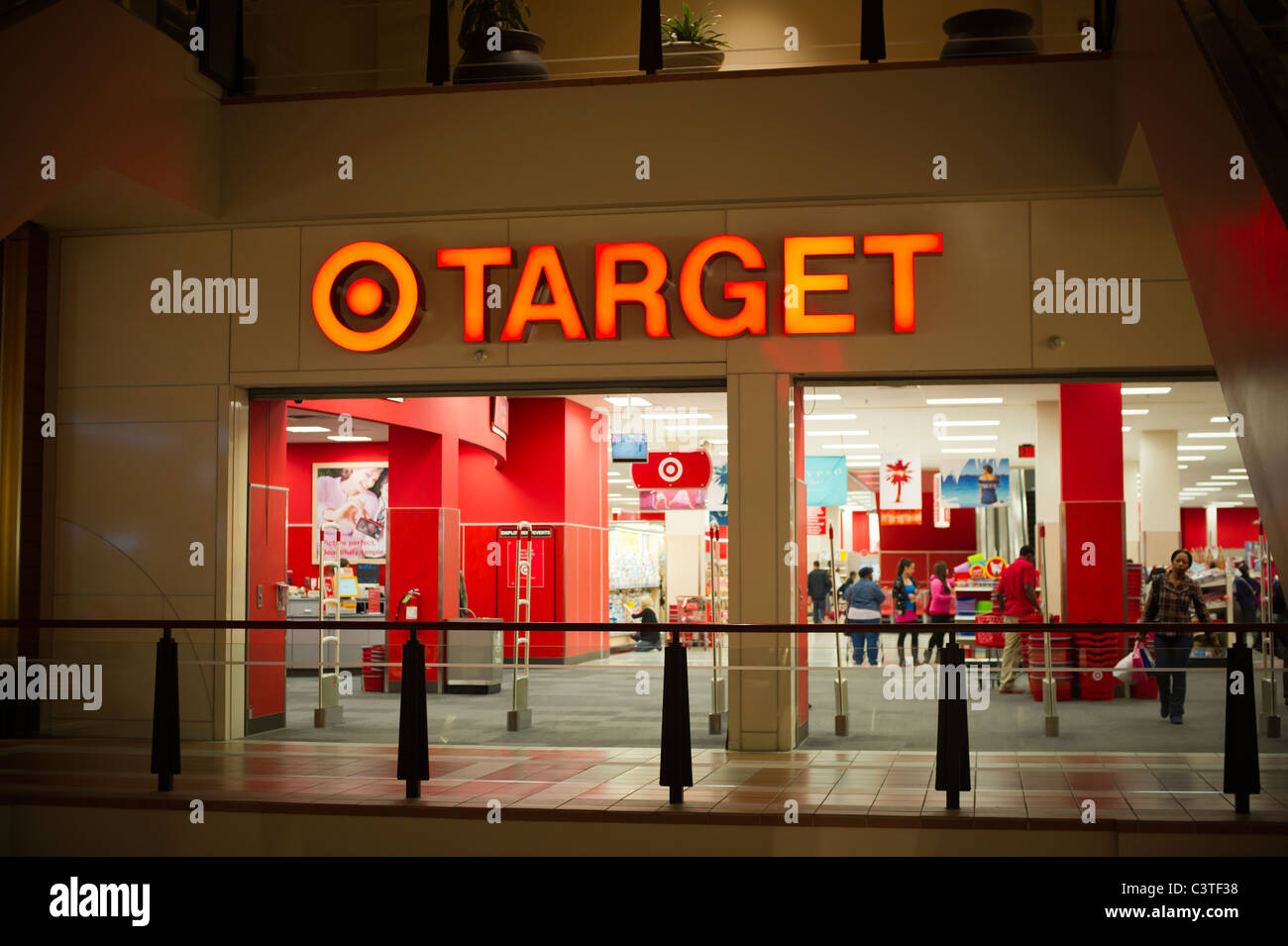 Shoppers at a Target store in downtown Brooklyn in New York Stock ...