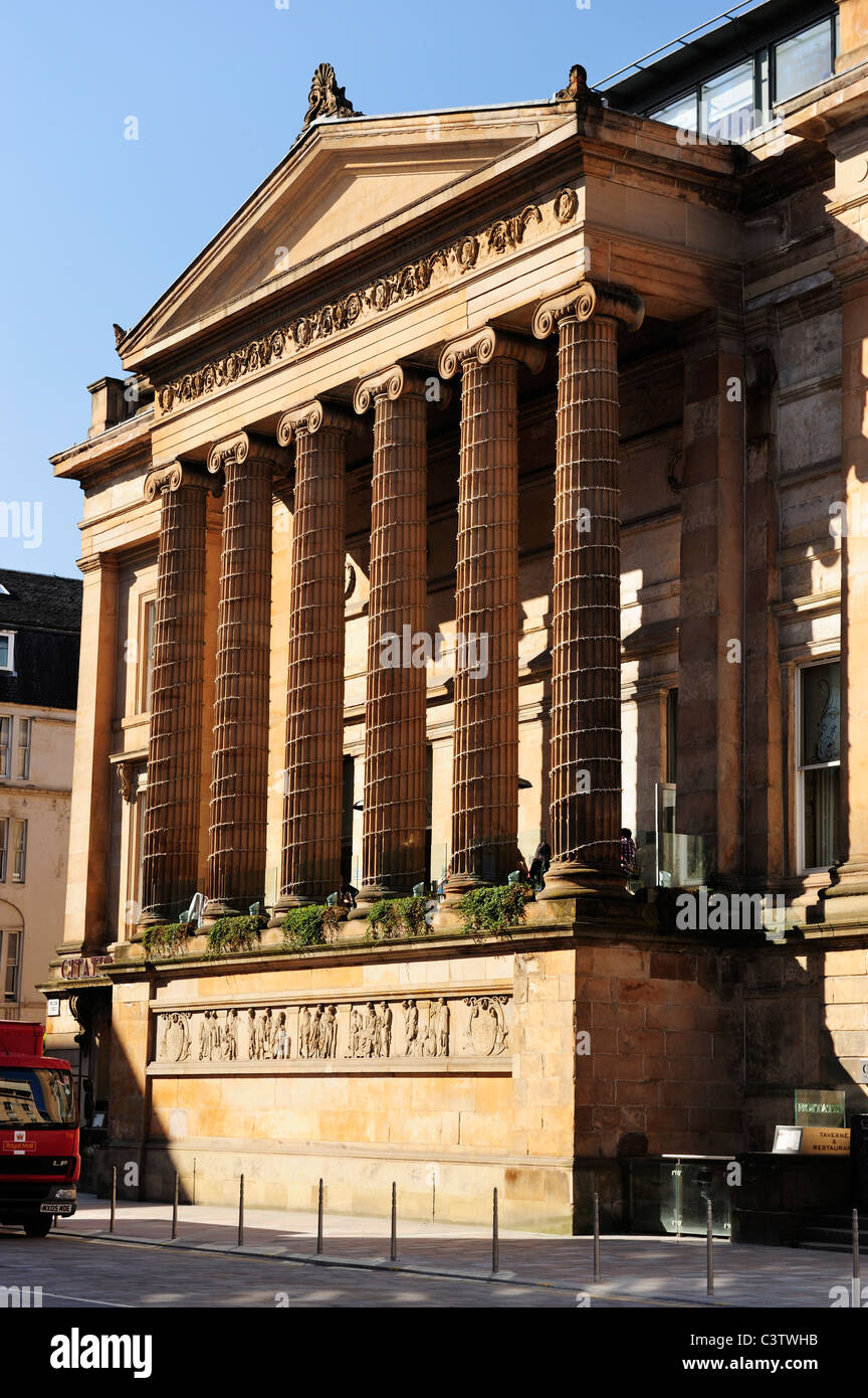 Former Sheriff Court building now Citation Restaurant in Glasgow's Merchant City, Scotland - Stock Image