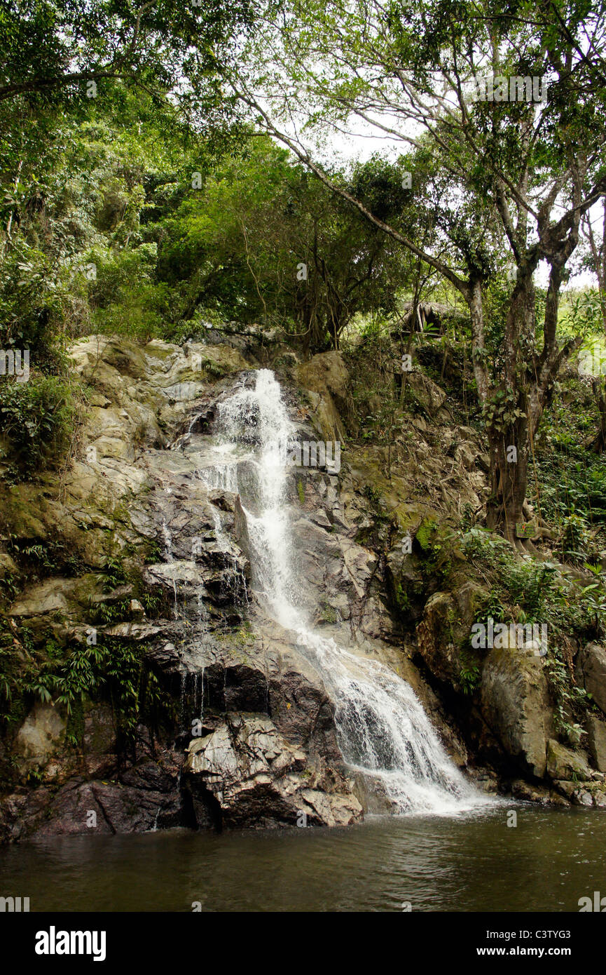 La Cascada Waterfall Minca Magdalena Department Colombia Stock Photo Alamy