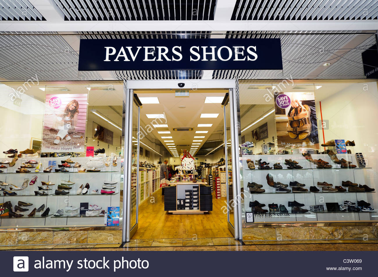 Pavers Shoe Shops Uk