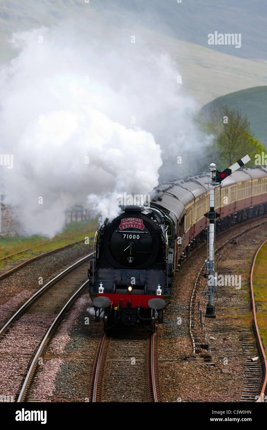 British Railways Br Standard Class 8 Number 71000 Stock