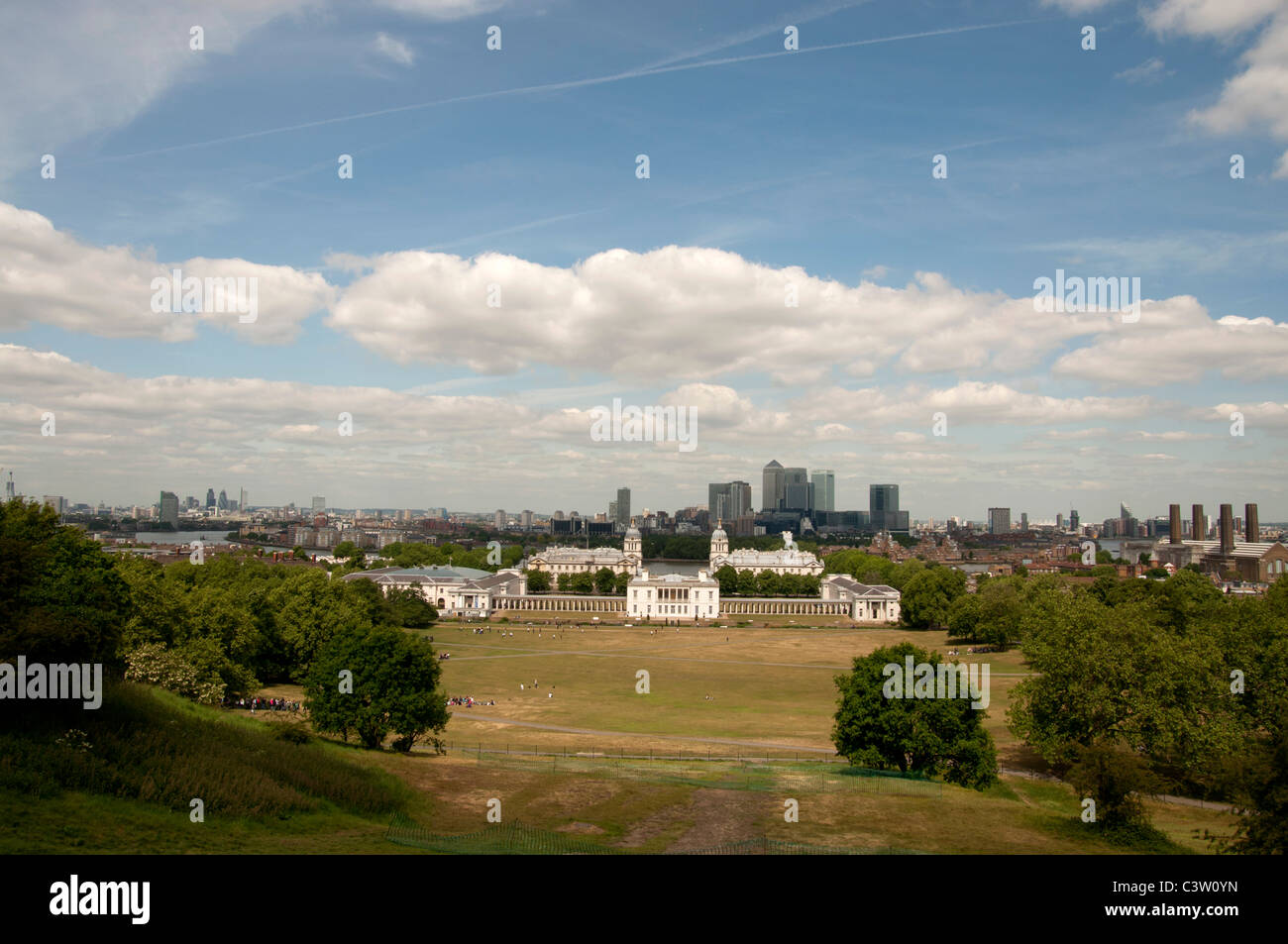 Greenwich royal park London England UK - Stock Image