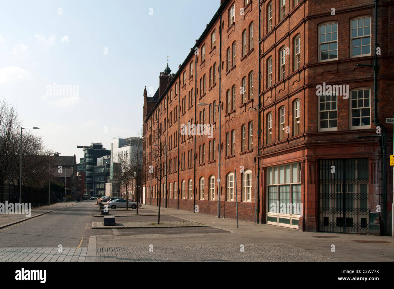 Victoria Square, Ancoats Urban Village, Northern Quarter, Manchester, England, UK. - Stock Image