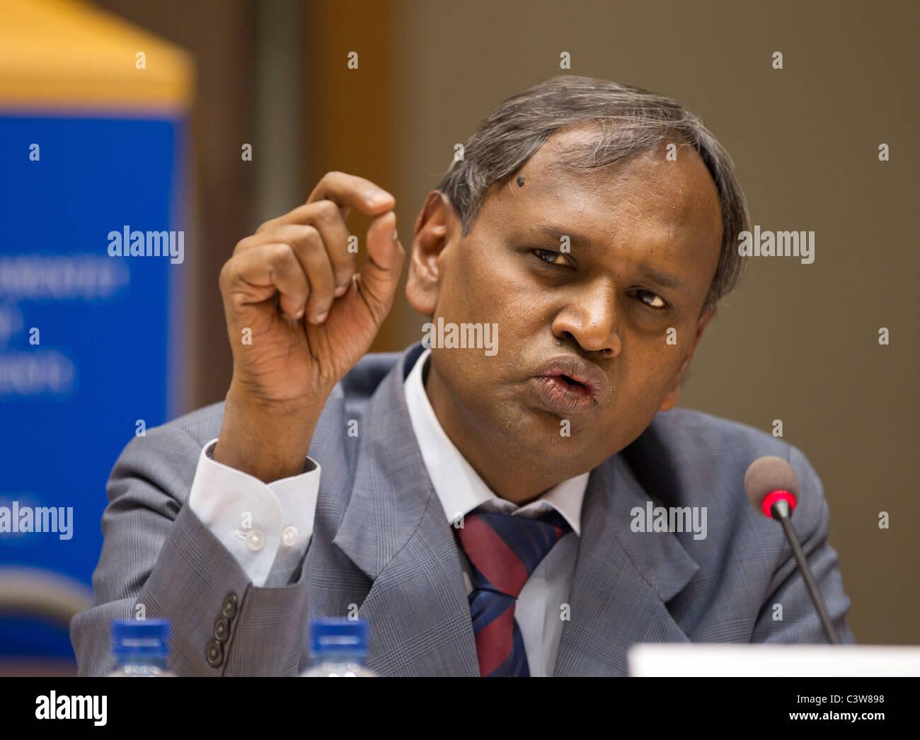 Dr. Udit Raj, National President, Indian Justice Party - Stock Image