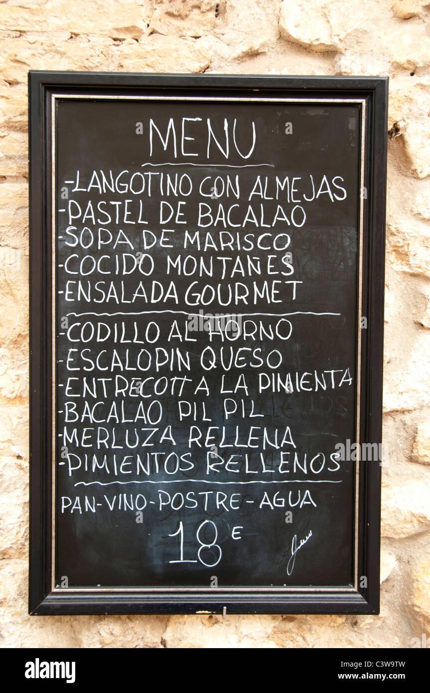 Cafe signe style vintage tapas bar signe café tapas signe cuisine signe
