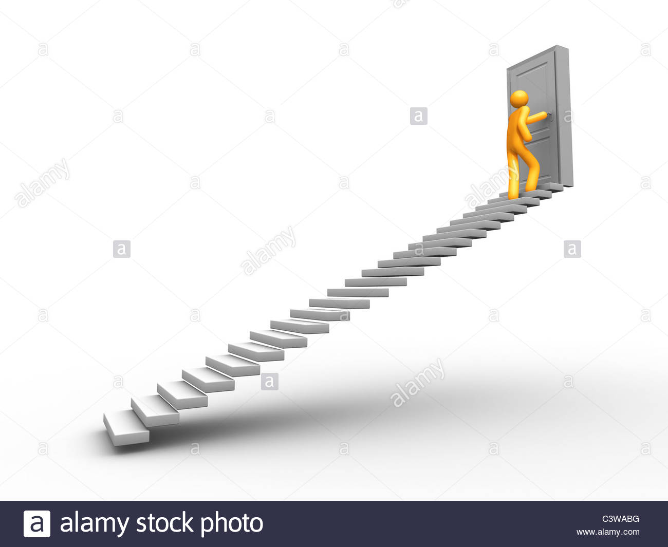 Courage - Stock Image
