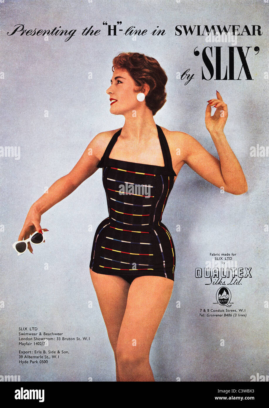 Original Full Page Advertisement In Fashion Magazine Circa