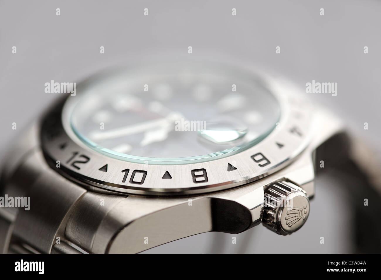 rolex watche - Stock Image