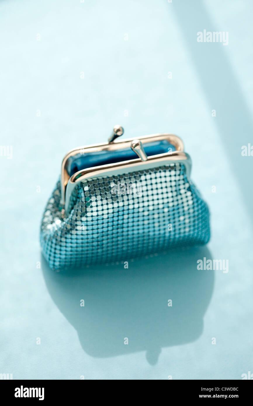 coin purse - Stock Image
