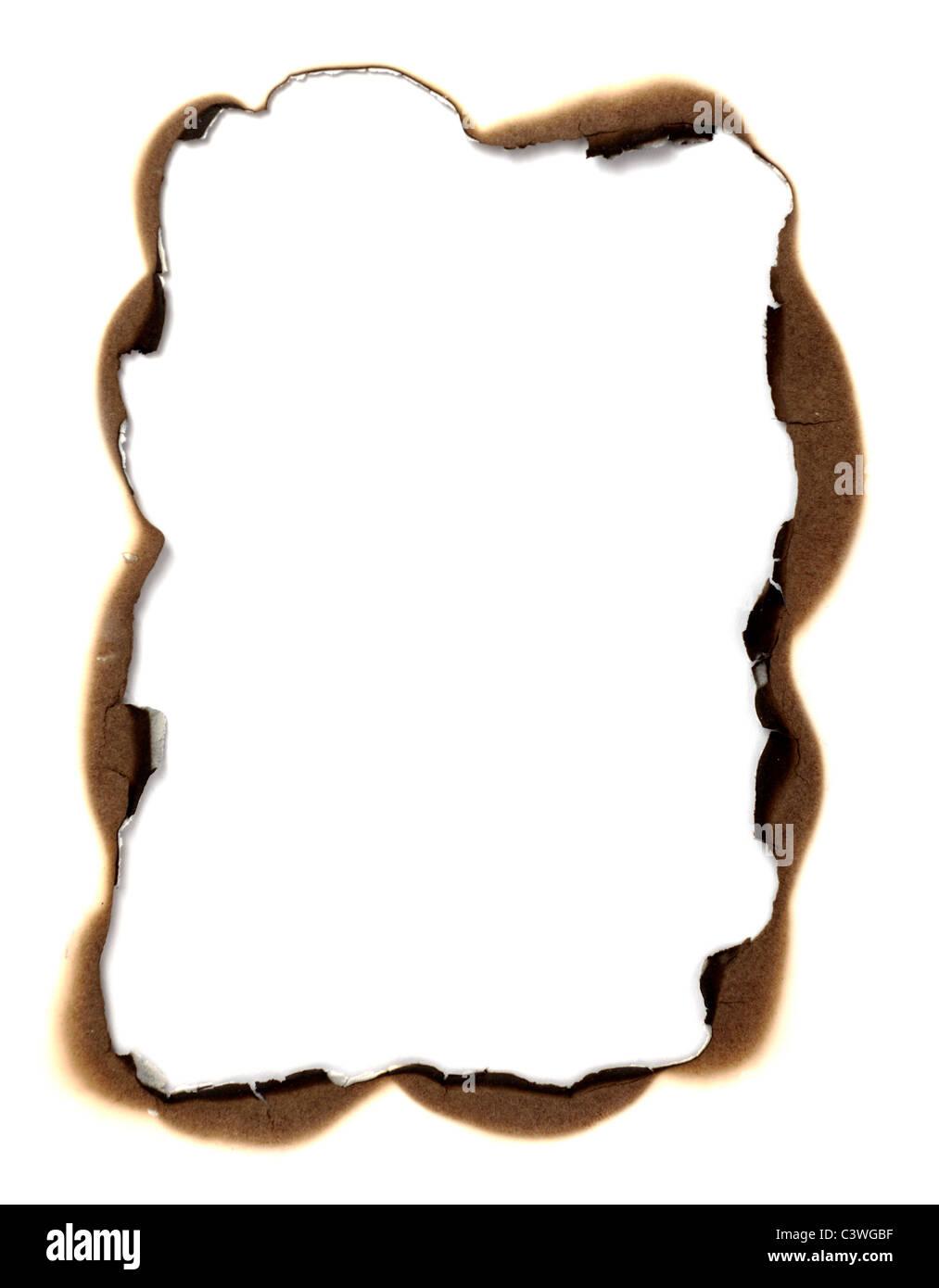 Burn Edges Paper Stock Photo 36826371 Alamy