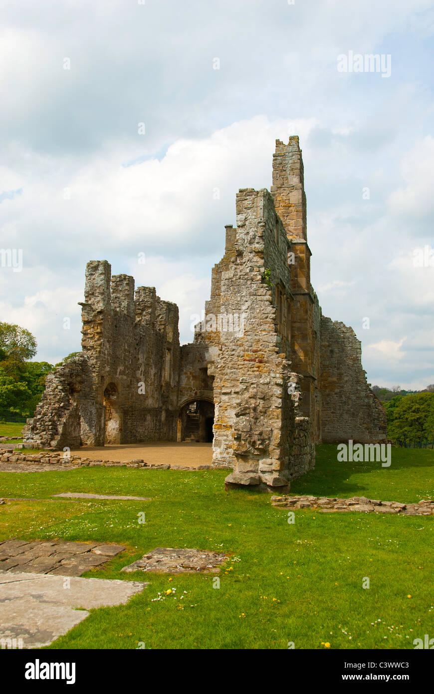 Egglestone Abbey - Stock Image