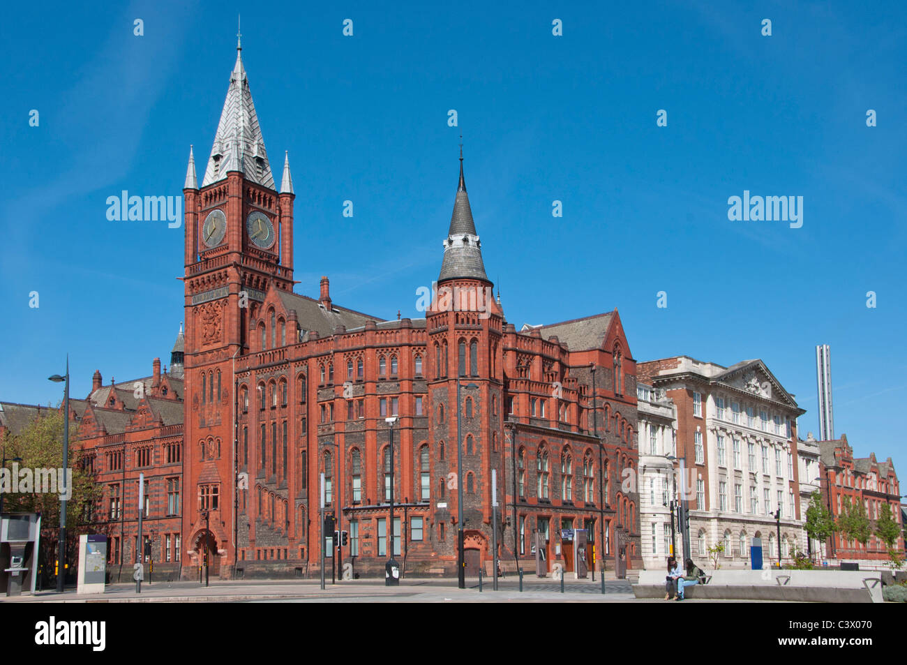 The Victoria Gallery And Museum, Liverpool University, Merseyside, UK - Stock Image