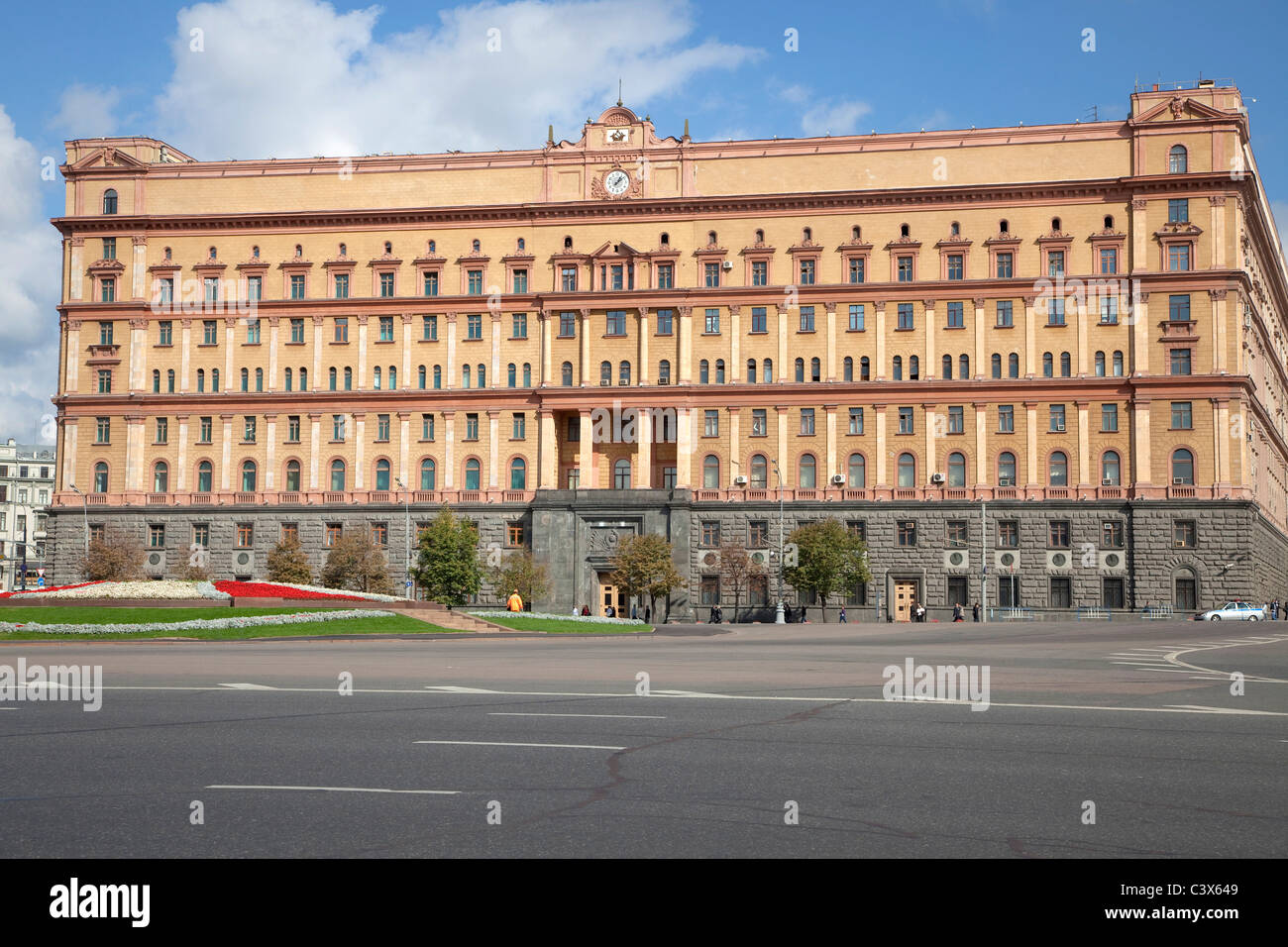 Lubyanka in Moscow, Russia - Stock Image