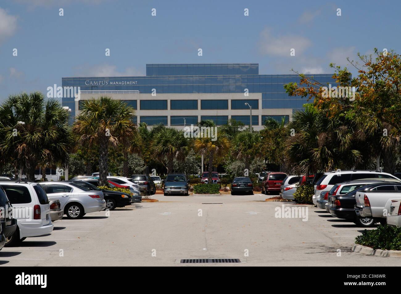 Campus Management Corporation building on Northwest 51st Street Boca Raton Florida USA - Stock Image