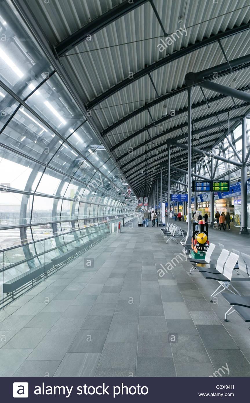 Leipzig Halle Airport Leipzig Saxony Germany Europe Stock Photo Alamy