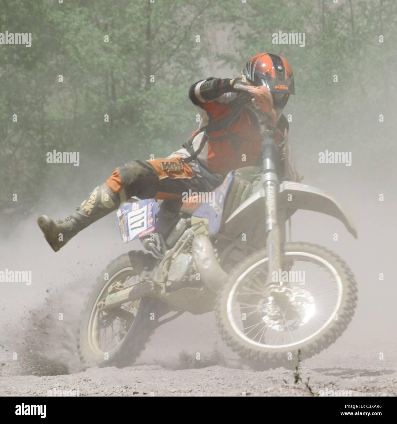 Motocross - Stock Image