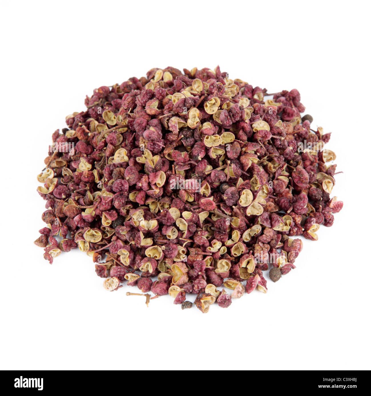 Szechuan pepper Cut Out Stock Photo
