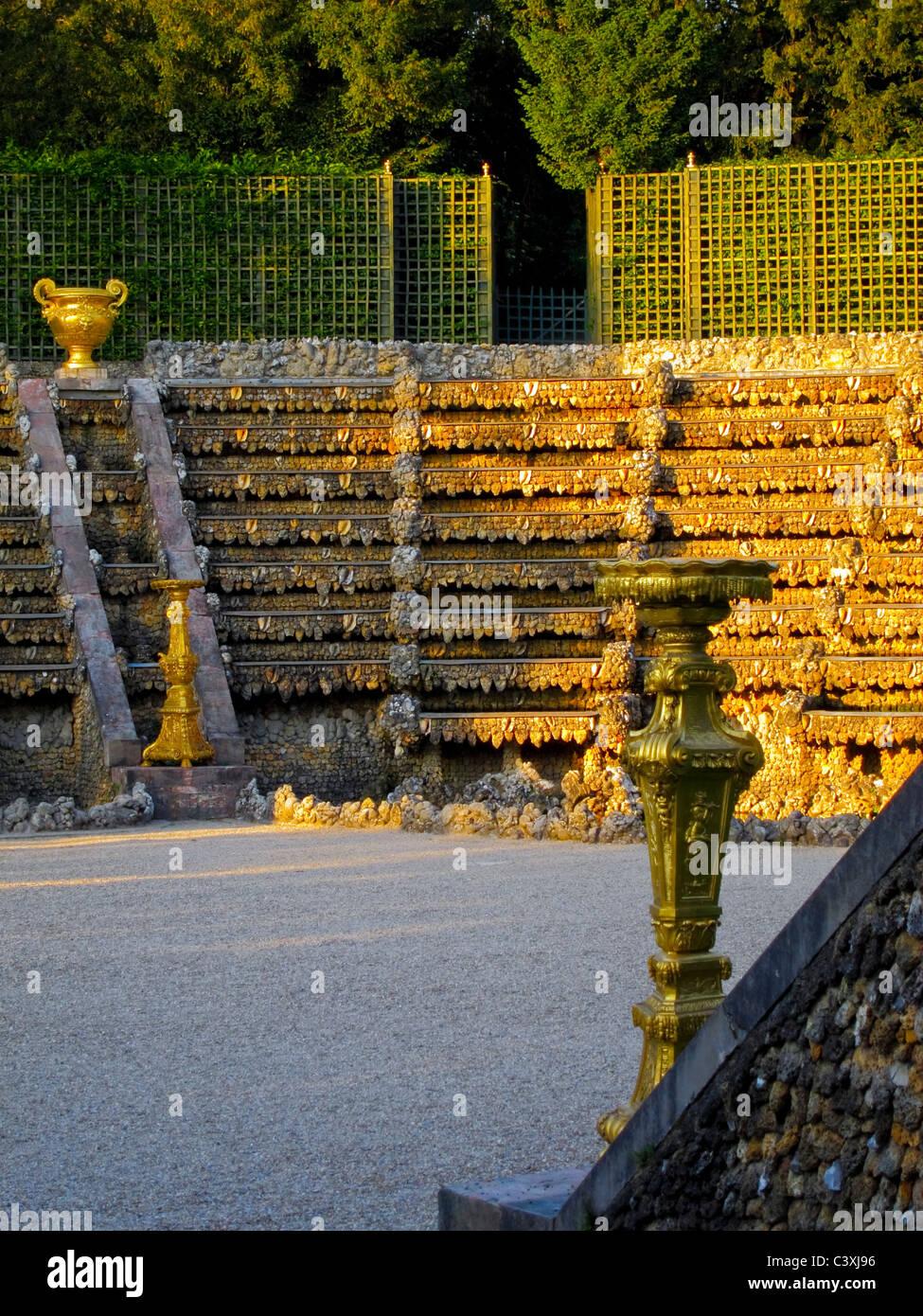 Versailles, France, French Classical Gardens Scenes, Jardin de Stock ...
