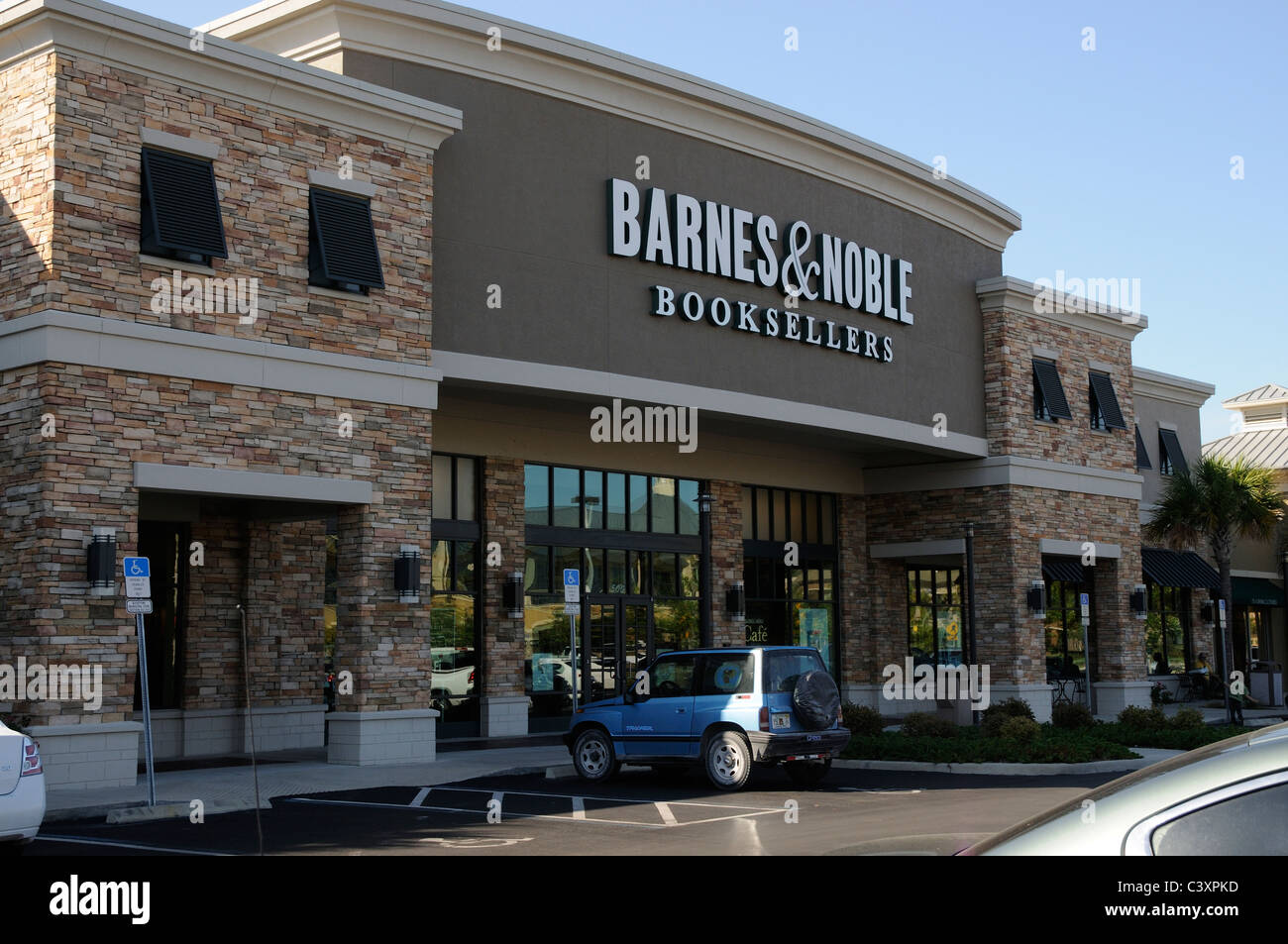 Barnes & Noble booksellers Florida USA - Stock Image